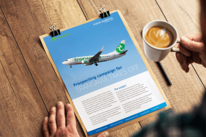 Advertiser case study – Transavia